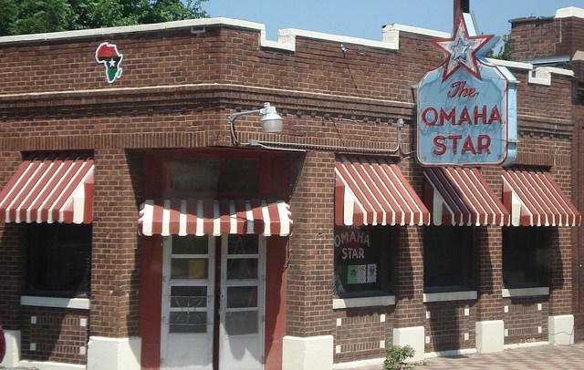 The Omaha Star is located in the center of Omaha's black community. It is the only black owned newspaper in Nebraska.