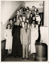 This picture taken in 1951 shows the current members of the Deporres club at the time. This photo was brought to you courtesy of Creighton University Library.