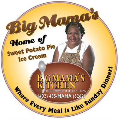 """An image from GuyFieri.com promoting his visit to Big Mama's on his TV show, """"Diners, Drive-ins and Dives."""""""