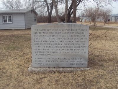 Caving Banks historical marker