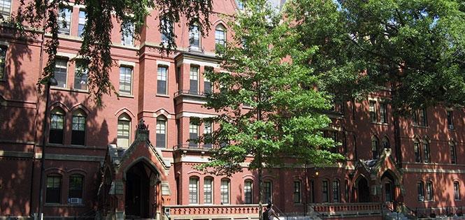 Matthews Hall, Harvard University (image from Harvard University)