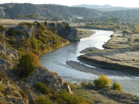 View of the Missouri Headwaters State Park