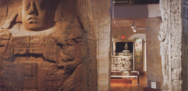 Encounters with the Americas exhibit (image from Harvard University)