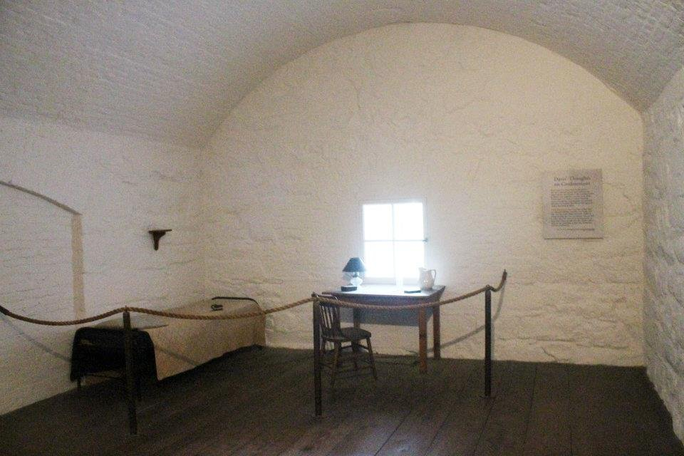 Jefferson Davis prison cell