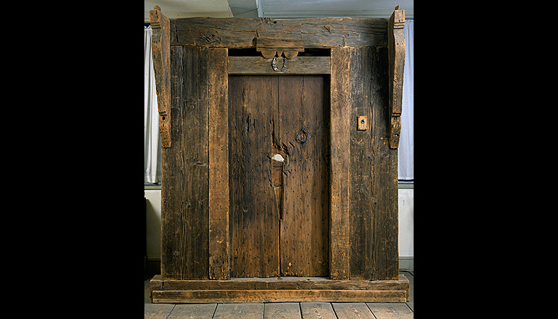 The original Indian House door.