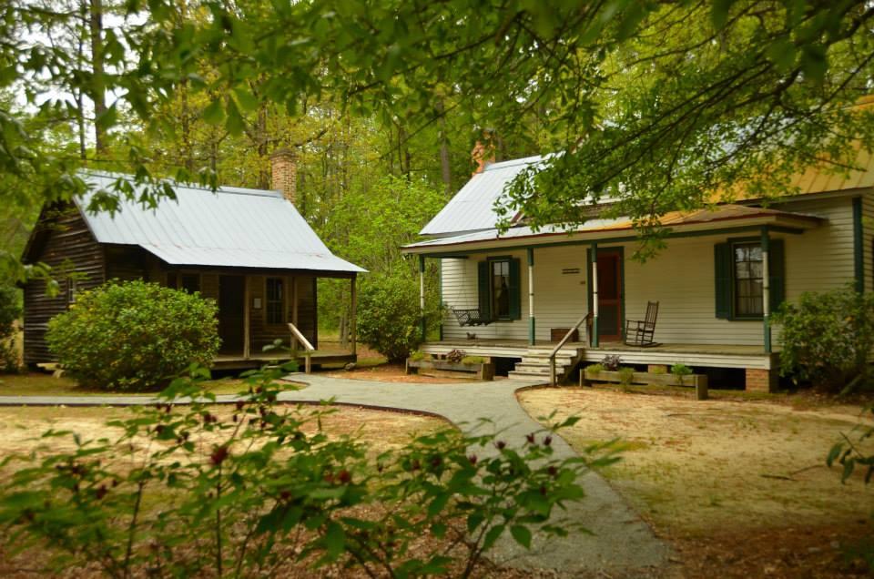 Restored homestead.