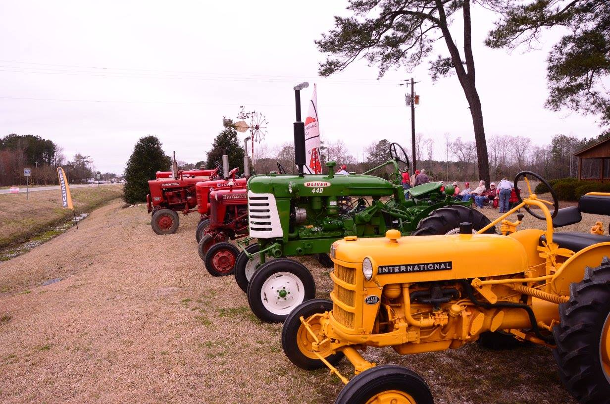 Tobacco Farm Life Museum hosted the International Harvester Tractor Club on site.