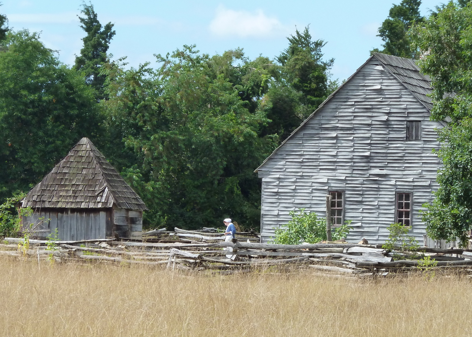 Some structures featured at the farm