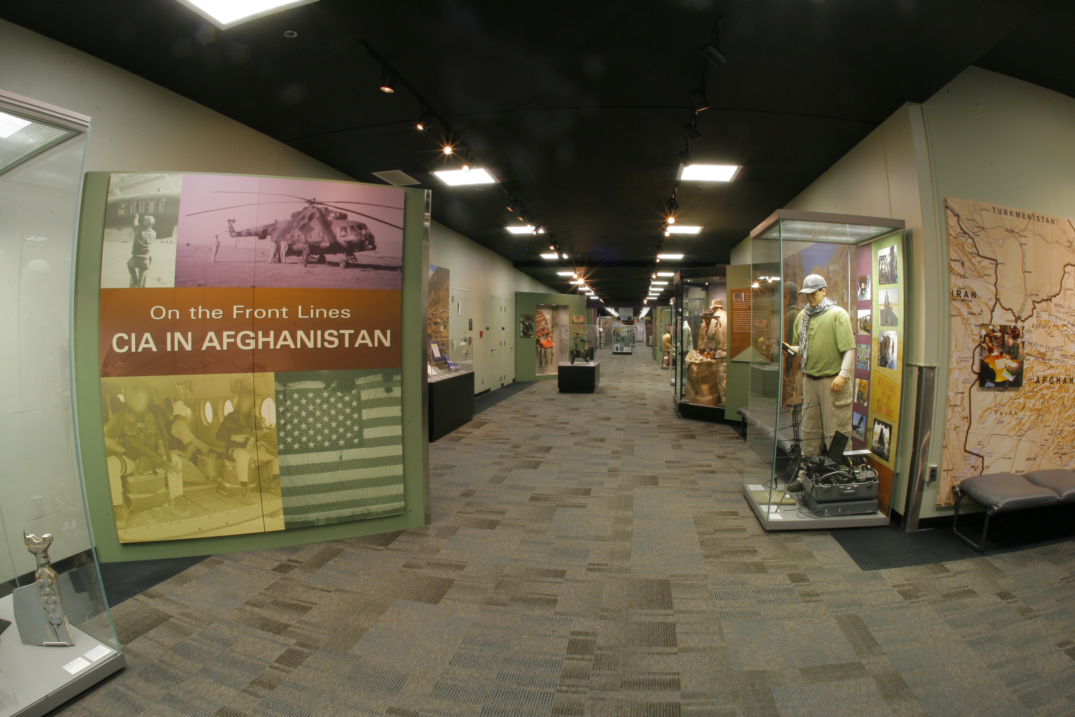 Inside of the CIA in Afghanistan  exhibit