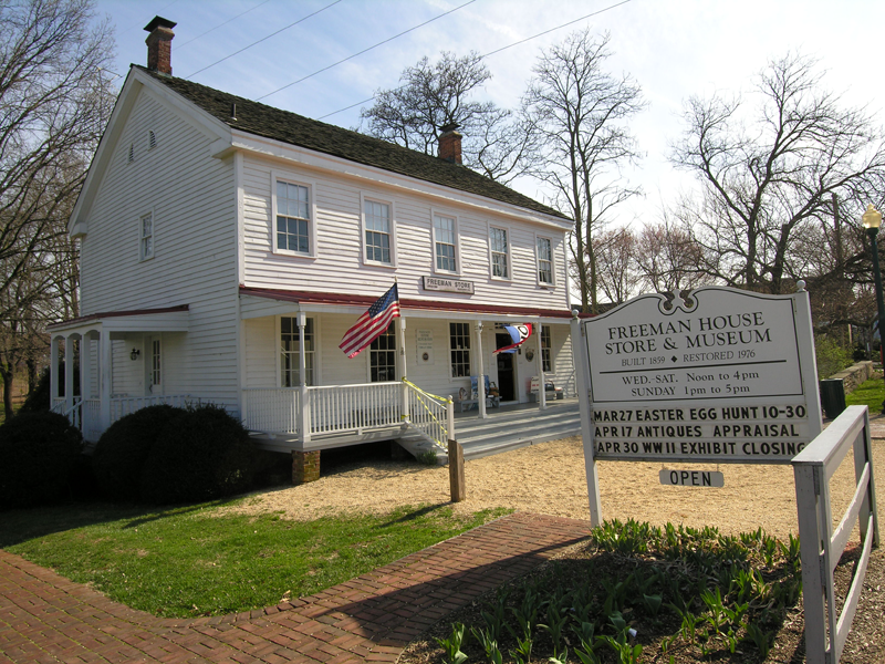 The Freeman Store and Museum by Oakridge Auction Gallery (reproduced under Fair Use).