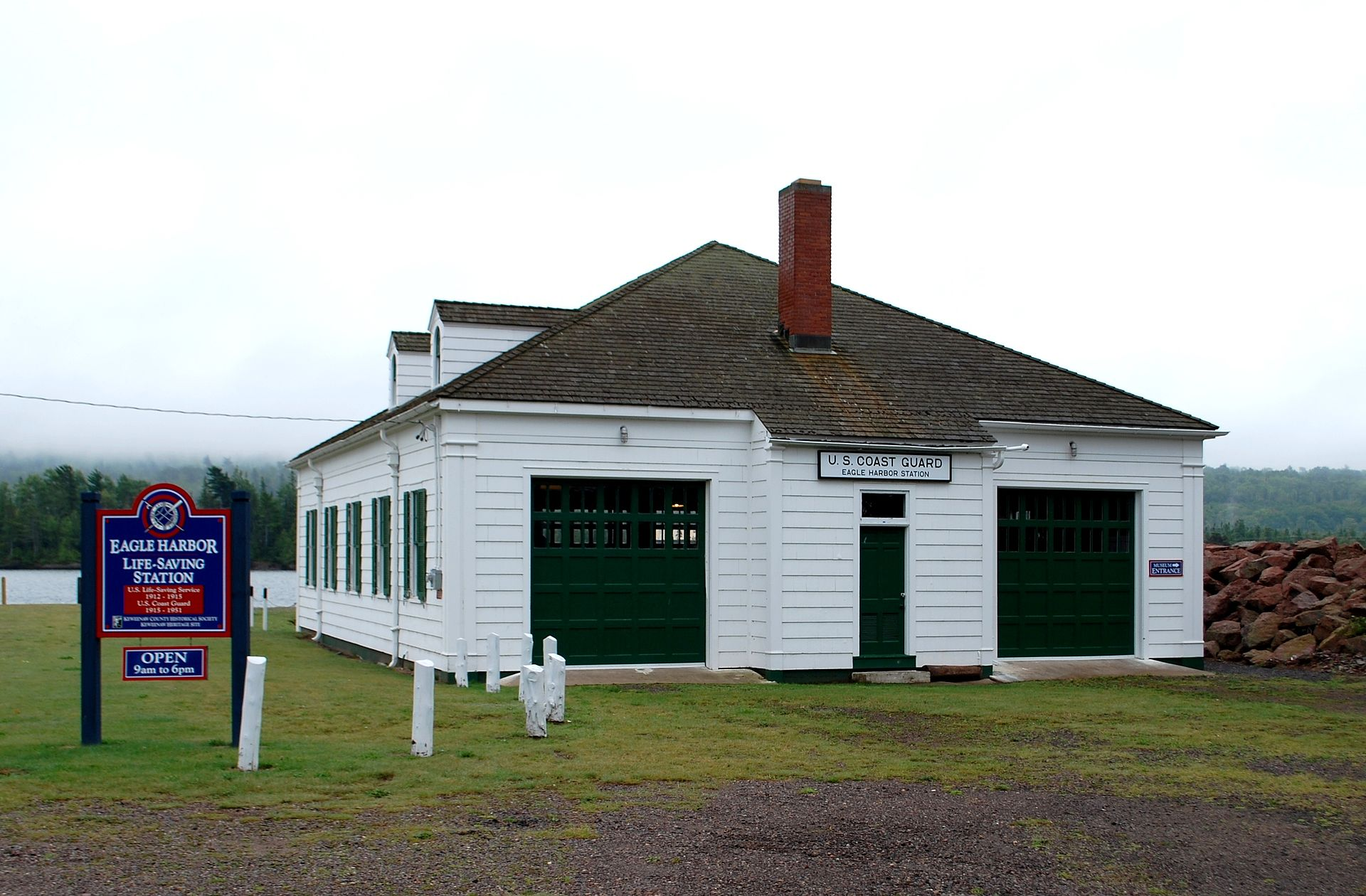 The life-saving station museum