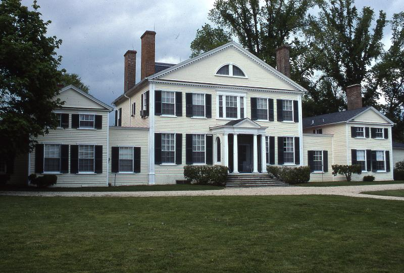 The central section of Wye House dates to the early 1780s.