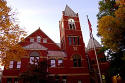 The courthouse was placed on the National Register of Historic Places in 1985.
