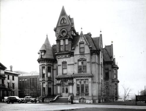 The William Plankinton Mansion circa 1950