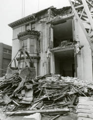 Demolition of John Plankinton mansion circa 1975