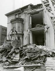 Demolition of John Plankinton mansion circa 1975