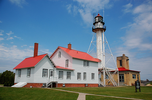 Great Lakes Shipwreck Museum, formerly the Whitefish Light Station