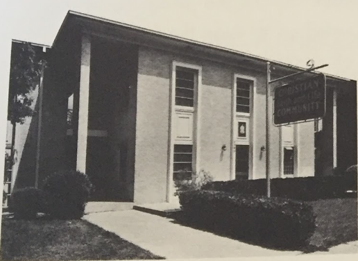 """A photo of the CFLC's College House from their brochure, """"A Bold Experiment for the Mission of the Church."""""""