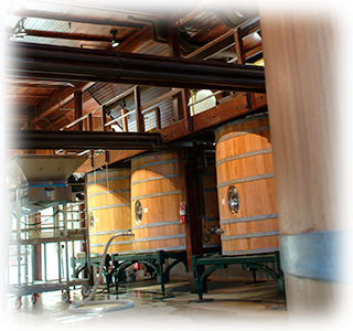 Winemaking at the grand chateau at Inglenook