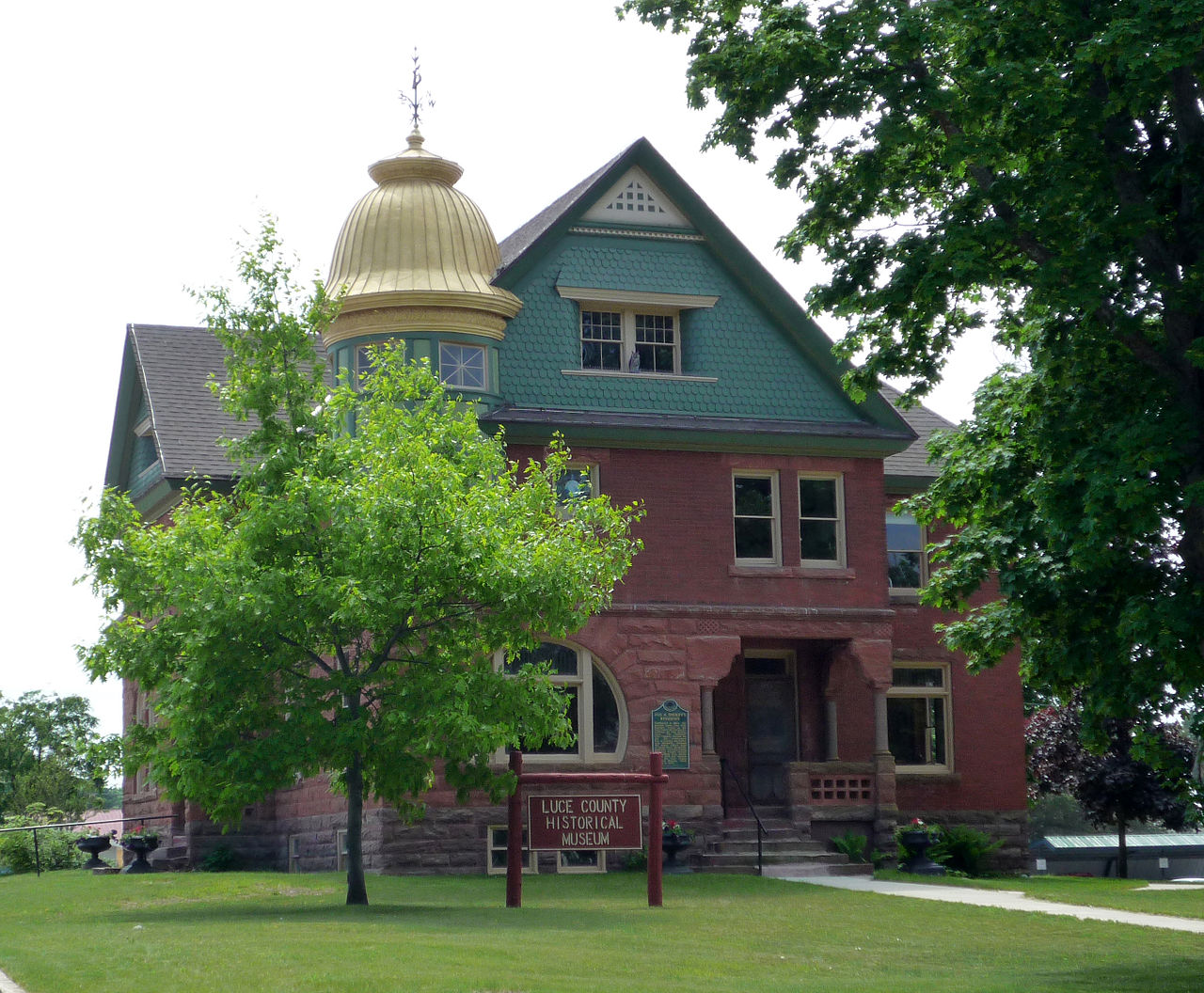 The Luce County Historical Museum