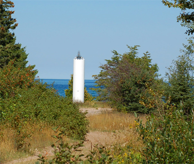 The Front Range Light, standing at 23 feet tall