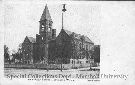 Oley School, circa 1895