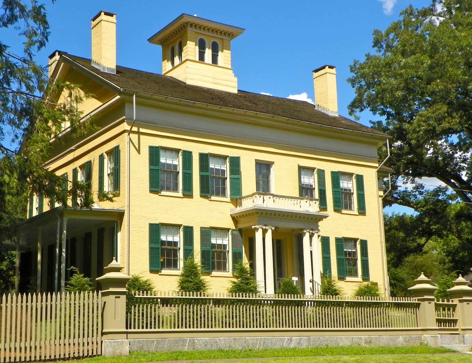 The Dickinson Homestead.