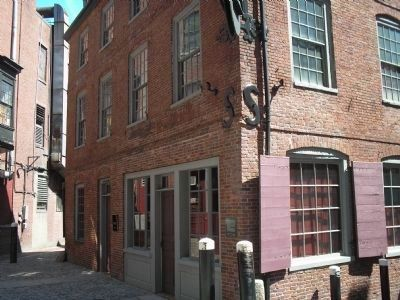 Ebenezer Hancock House (image from Historic Markers Database)