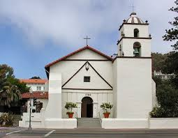 Present day photo of San Buenaventura Mission.