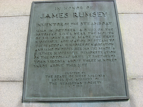 This is the bronze plaque located on the monument. Written by Beltzhoozer.