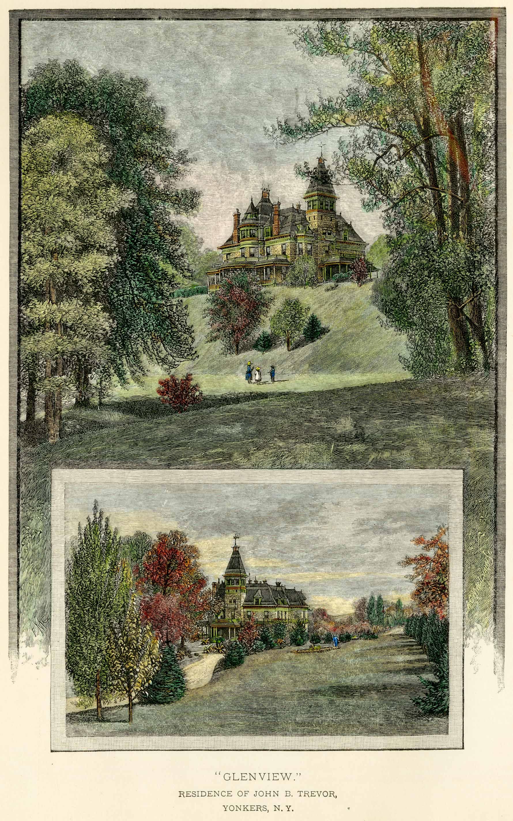 Glenview in 1886.