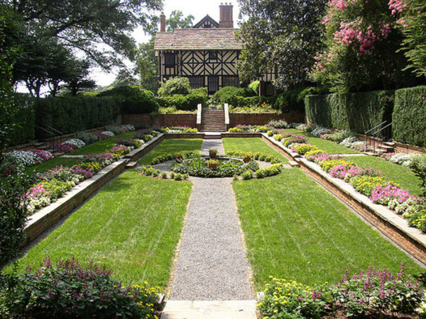 The Sunken Garden at Agecroft.