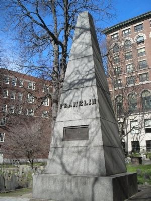 Franklin Family Obelisk (image from Historic Markers Database)
