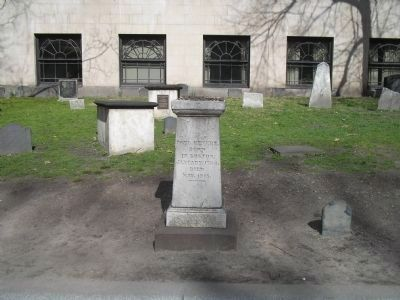 Grave of Paul Revere (image from Historic Markers Database)