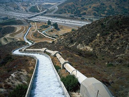 The Los Angeles Aqueduct was completed in 1913 and changed the face of California's infrastructure and ecosystem