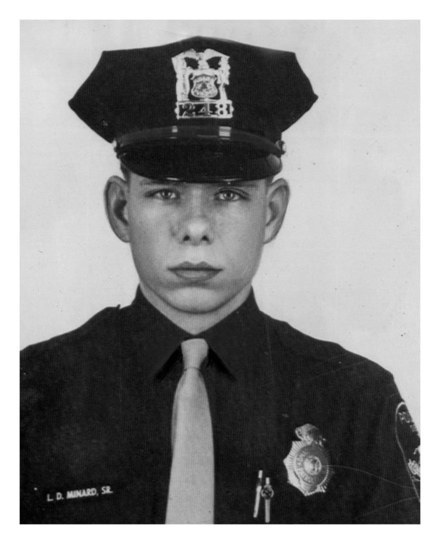 Officer Larry Minard was 29 when he was killed in August 1971 while responding to an anonymous call about a domestic disturbance at 2867 Ohio St. in Omaha. (Photo by Omaha World Herald)