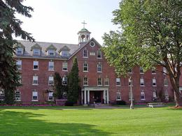"Founder's Hall at Saint Michael's College.  StudySmart. ""St. Michael's College, VT."" Accessed May 3, 2016. http://www.studysmart.ch/usa/universitaetenusa/st-michael-s-college-vt."