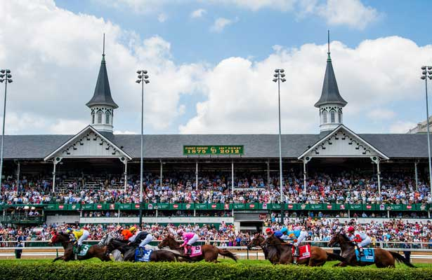 The Churchill Downs racetrack in Louisville, Kentucky is home to the world famous Kentucky Derby (image from Churchill Downs).