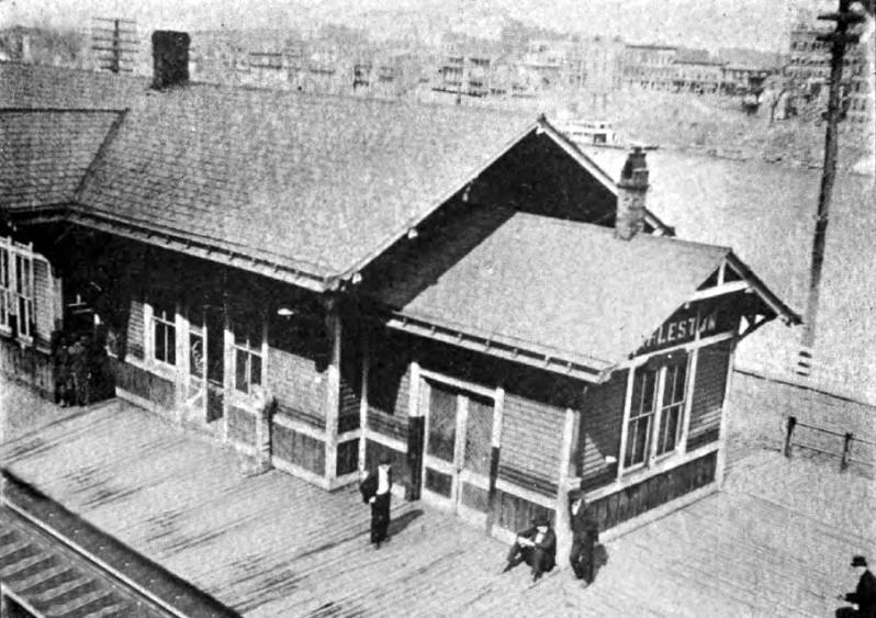 The original C&O Depot in Charleston, WV.