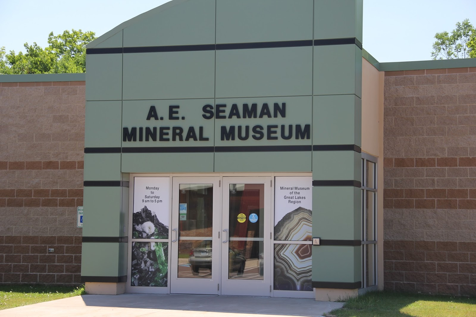 The A. E. Seaman Mineral Museum
