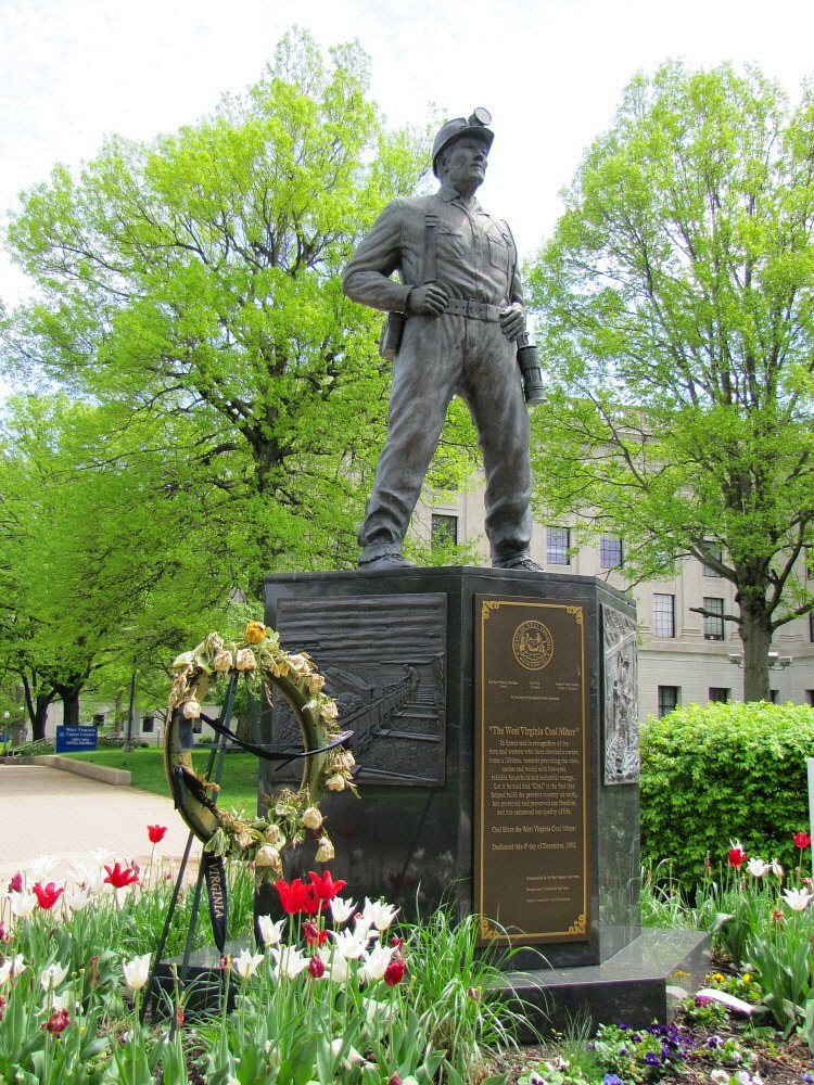 The WV Coal Miners Memorial