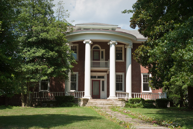 Holly Grove Mansion (built 1815), oldest structure in East End Historic District.