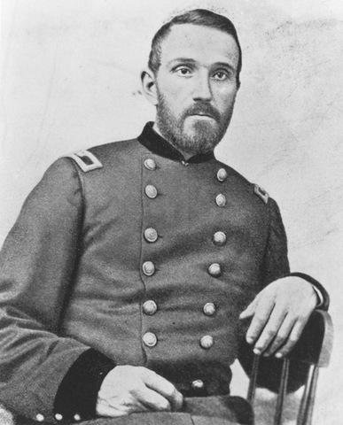 Colonel Joseph Lightburn, Union commander in the Kanawha Valley, August-September 1862. He later served with General William Tecumseh Sherman in the Western Theater and was wounded during the siege of Atlanta.