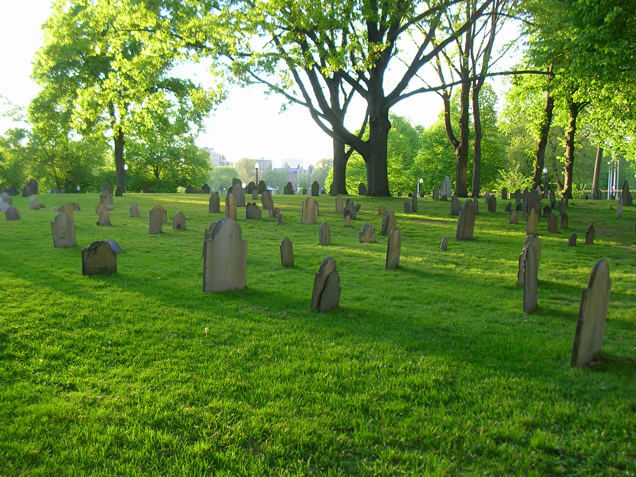 Central Burying Ground in Boston Common (image from Wikimedia)