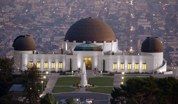 The Griffith Observatory was constructed in 1935. It is free and open to the public who can enjoy the views and learn about astronomy.