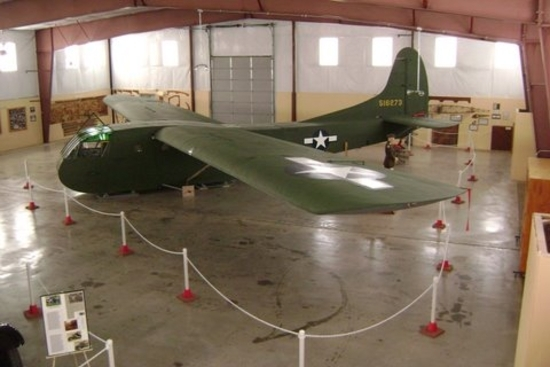 The fully restored glider