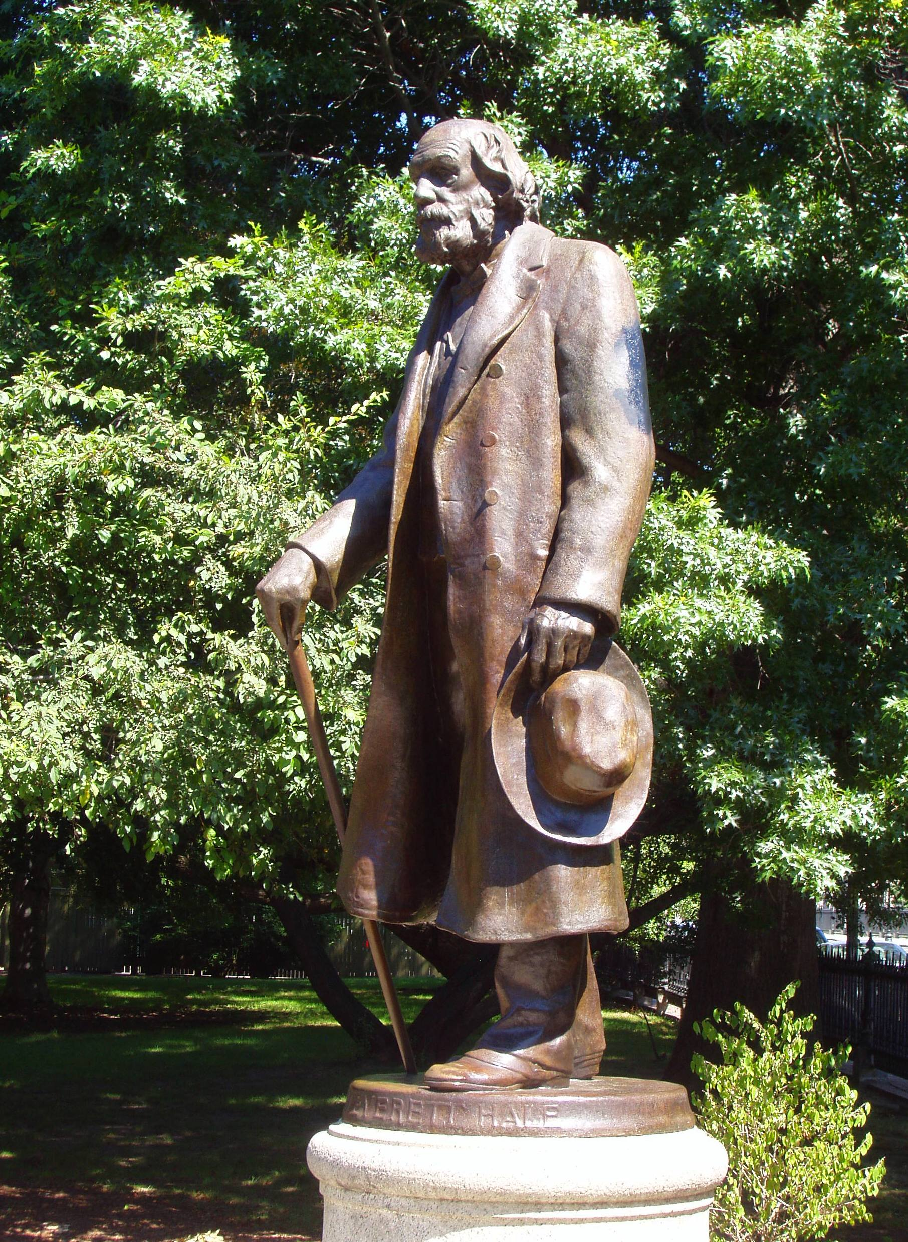 Statue of Edward Everett Hale (image from Wikimedia)
