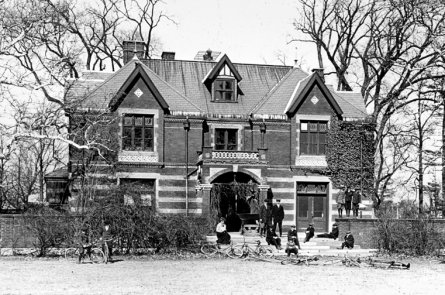 The original building of the Boston Children's Museum (image from The Boston Children's Museum)