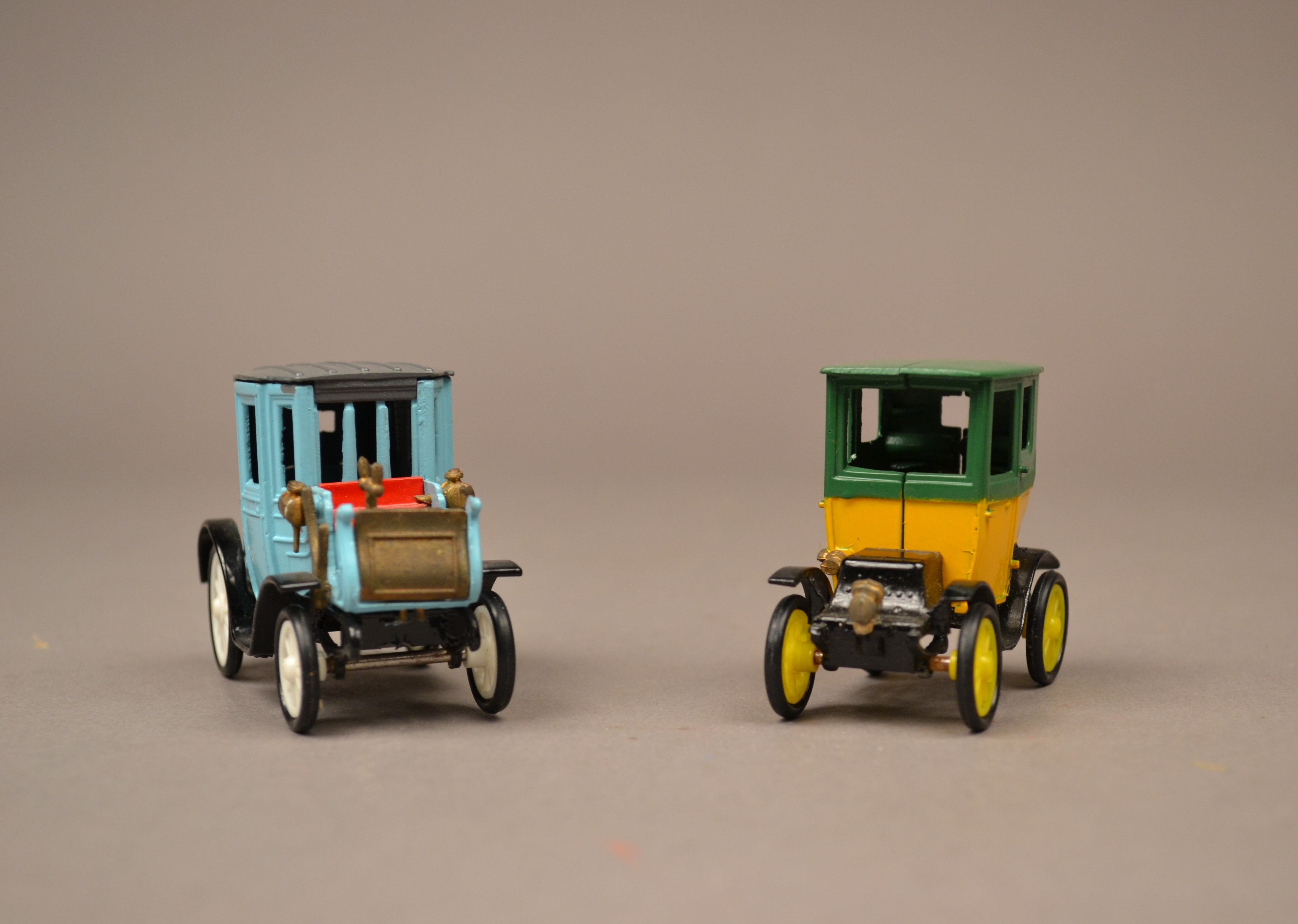Toy cars from the Victorian Play collection (image from The Boston Children's Museum)