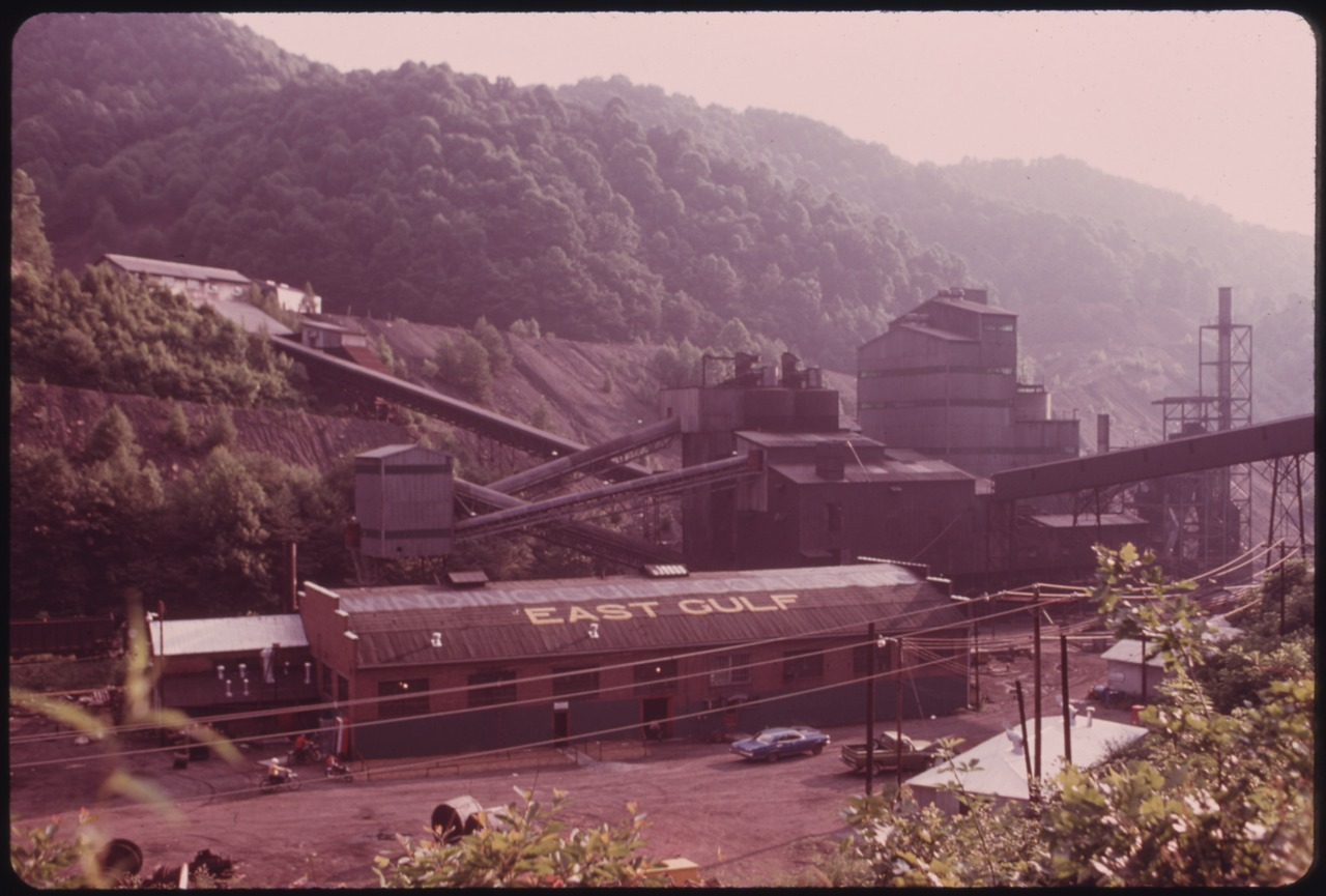 East Gulf Mine, where the protests began